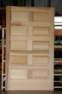 10 Raised Fielded Panel Door