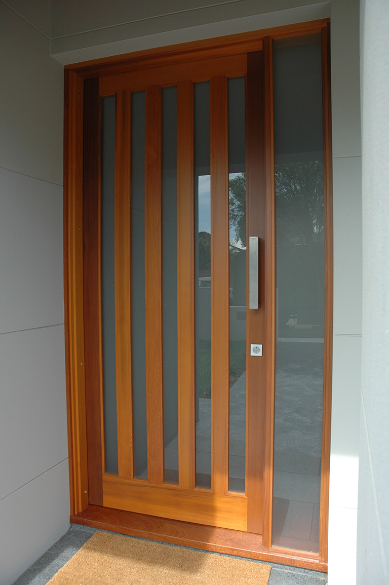 5 light door and sidelight & Custom Made Timber Entry Doors - Sydney Joinery Handcraft Door |