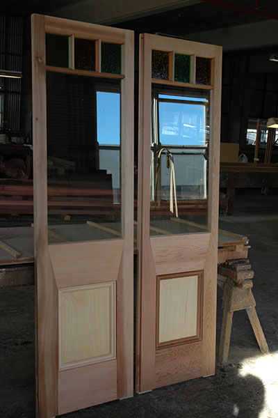 Gunstock Doors