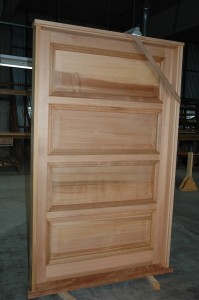 wide four panel door